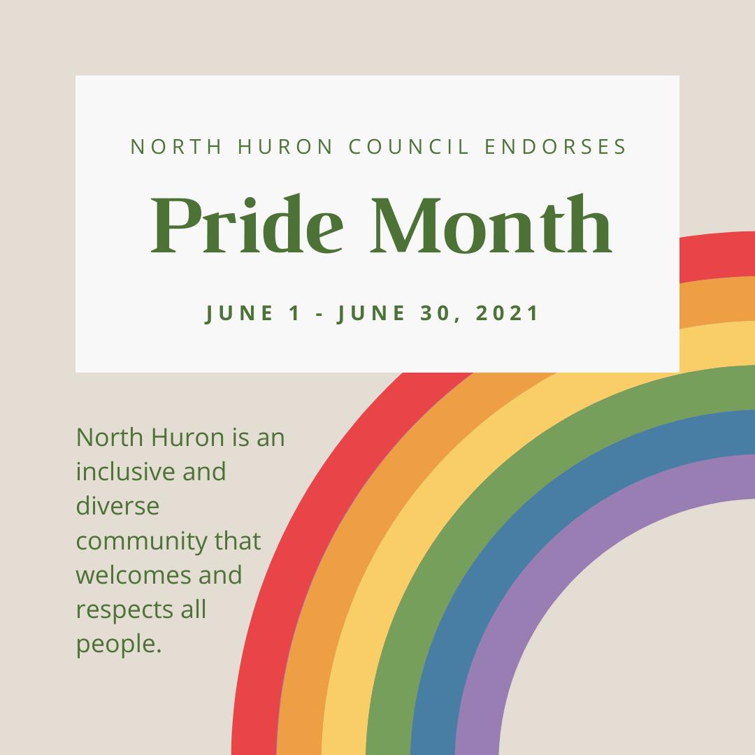 North Huron Pride Month image